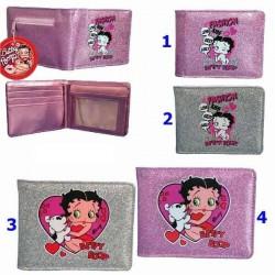 Betty Boop Rechteck L Brieftasche