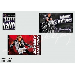 Flagge von Johnny Hallyday