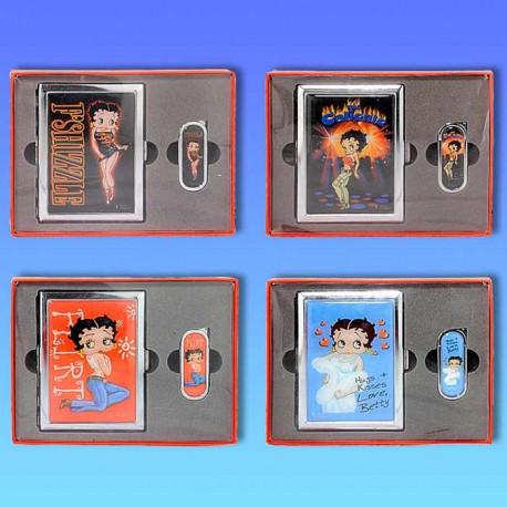 Coffret cadeau Betty Boop Etui + Briquet