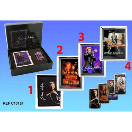 Coffret briquet johnny hallyday la boutique des toons for Miroir johnny hallyday