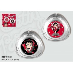 Ashtray oval Betty Boop