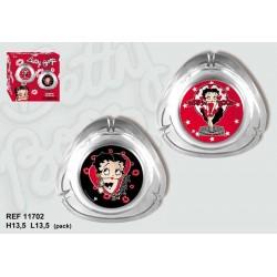 Ashtray oval Betty Boop
