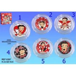 Aschenbecher Glas Betty Boop