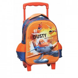 Sac à roulettes trolley maternelle Planes Dusty 30 CM - Cartable