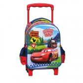 Sac à roulettes trolley maternelle Cars Friends 30 CM - Cartable