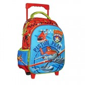 Sac à roulettes trolley maternelle Planes Air Attack 30 CM - Cartable