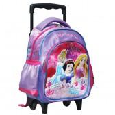 Sac à roulettes trolley maternelle Princesse Cendrillon 30 CM - Palace Pets - Cartable