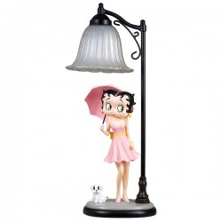Lampe-Betty Boop-Regenschirm