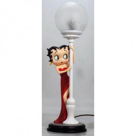 Lampe Betty Boop Robe rouge