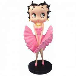 Estatuilla Betty Boop Cool Breeze rosa - edición limitada