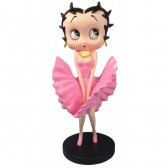 Statuette Betty Boop Cool Breeze Rose - Edition Limitée
