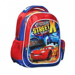 Maternal backpack Cars Street 30 CM with lights - Binder