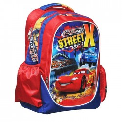 Backpack Cars Street 43 CM with lights - Binder