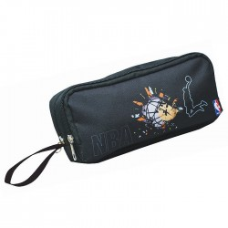 Trousse ovale NBA Black - 2 Cpt