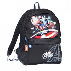 Avengers Black 45 CM upper range - 2 Cpt backpack
