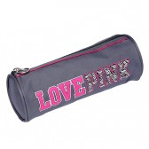 Trousse ronde Love Pink 22 CM