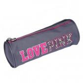 Trousse ronde Love Pink 22 CM