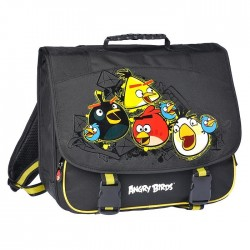 Cartable Angry Birds Black Haut de Gamme 38 CM