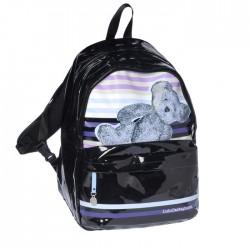 Lulu Castagnette black 45 CM - 2 Cpt backpack