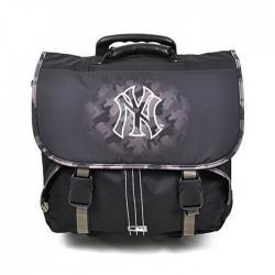 Cartable à roulettes New york Yankees Noir Trolley 41 CM Haut de gamme - Cartable