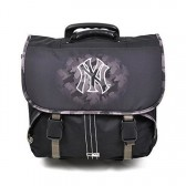 Cartable à roulettes New york Yankees Noir Trolley 41 CM Haut de gamme - Cartable