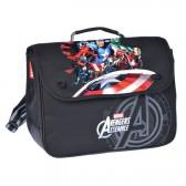 Cartable maternelle Avengers Black 36 CM Haut de Gamme