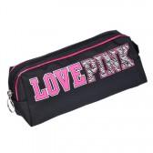 Trousse ovale Love Pink 22 CM