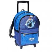 Sac à roulettes Max Steel Bleu 45 CM Haut de gamme