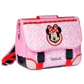 Cartable Minnie Mouse rose 38 cm Haut de Gamme