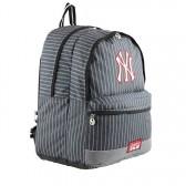 Sac à dos New York Yankees Noir Couture 45 CM - 2 cpt