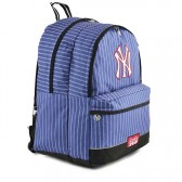 Sac à dos New York Yankees Bleu Couture 45 CM - 2 cpt