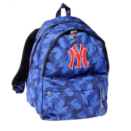 Sac à dos New York Yankees Noir 45 CM - 2 cpt