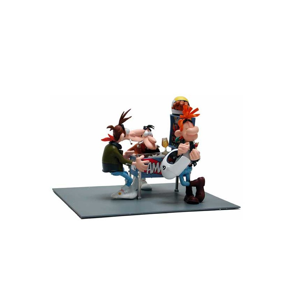 figurine joe bar team sc ne du flipper. Black Bedroom Furniture Sets. Home Design Ideas