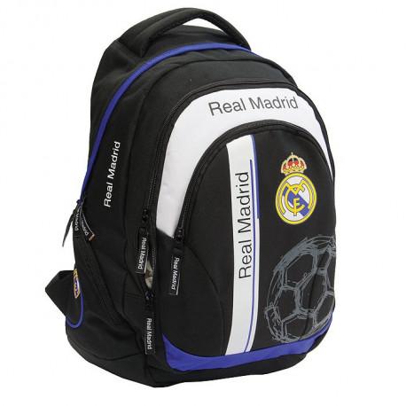 Sac à dos Real Madrid Basic 43 CM Haut de Gamme - 2 Cpt