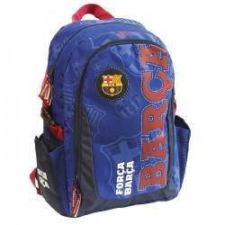 Sac à dos Blue FC Barcelone 44 CM Haut de gamme - 2 cpt - FCB