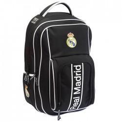 Sac à dos Real Madrid Black 47 CM Haut de Gamme - 2 Cpt
