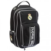 Real Madrid Black 47 CM upper range - 2 Cpt backpack