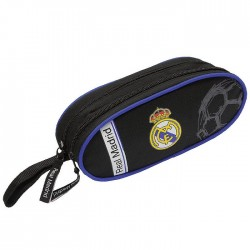 Trousse Real Madrid Black Basic 22 CM - 2 Cpt