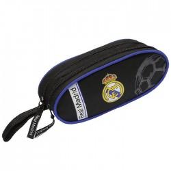 Trousse Real Madrid Black Basic 22 CM - 2 Cpt