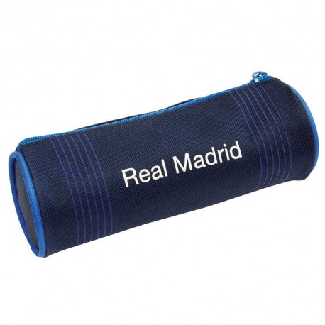 Trousse ronde Real Madrid Bleue 20 CM