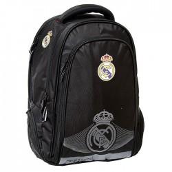 Real Madrid Black King 46 CM - 2 Cpt backpack