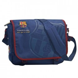 Sac besace FC Barcelone Bleu 34 CM - FCB