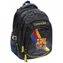 Sac à dos FC Barcelone Black 45 CM Haut de Gamme - 3 cpt - FCB