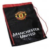 Bolso Manchester United negro 35 CM
