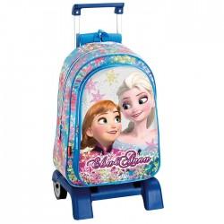 Sac à dos à roulettes Frozen La reine des neiges 43 CM Soul trolley Haut de Gamme - Cartable