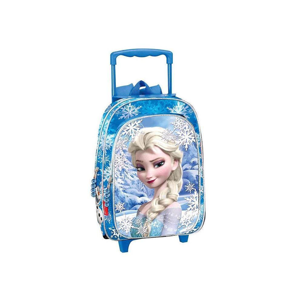 Sac dos roulettes frozen la reine des neiges 37 cm trolley - La reine des neiges frozen ...