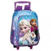 Sac à dos à roulettes Frozen La reine des neiges 37 CM trolley - Cartable