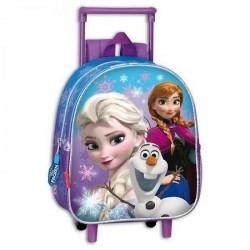 Sac à roulettes Frozen La reine des neiges Snow 28 CM maternelle