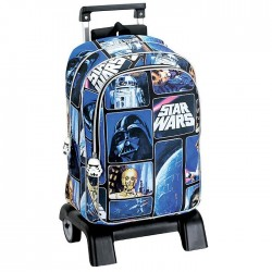 Rugzak skateboard Star Wars ruimte 43 CM trolley premium - Binder