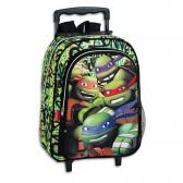 Mochila trolley en patín tortuga Ninja mutante 37 CM - encuadernación
